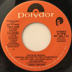 JAMES BROWN:(GET UP I FEEL LIKE BEING LIKE A)SEX MACHINE(LABEL SIDE-B)