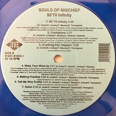 SOULS OF MISCHIEF:93'TIL INFINITY(LABEL SIDE-B)