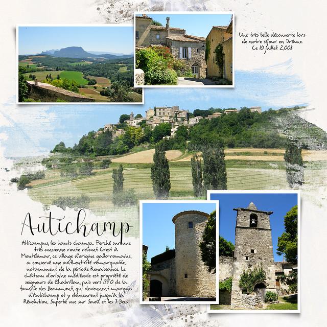 Drôme 2008 - Autichamp