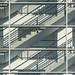 Stairwell behind glass (on Explore) by Jan van der Wolf