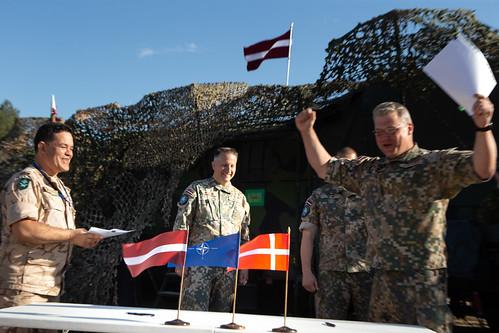 Mehanizētās kājnieku brigādes štābs iziet nozīmīgu NATO pārbaudījumu
