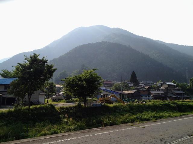 湧谷山 遠景