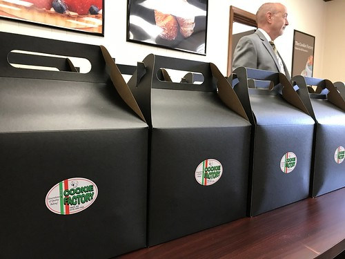 The Cookie Factory tour with Congressman Tonko