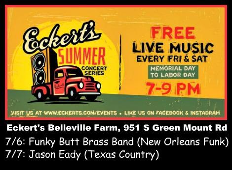Eckert's Summer Concerts 7-6-18