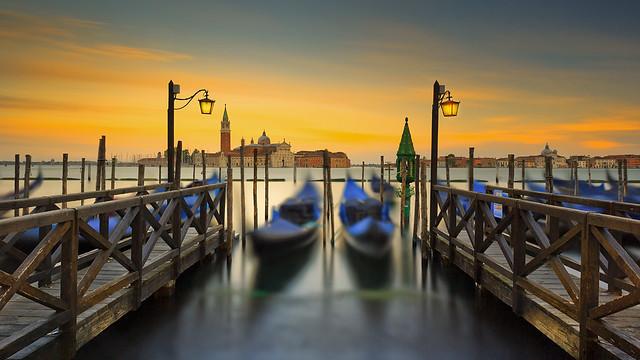 A magic venetian sunset