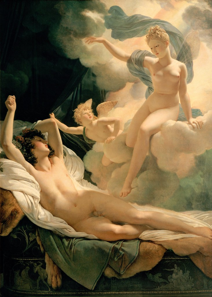 Pierre Narcisse Guerin - Morpheus and Iris (1811)