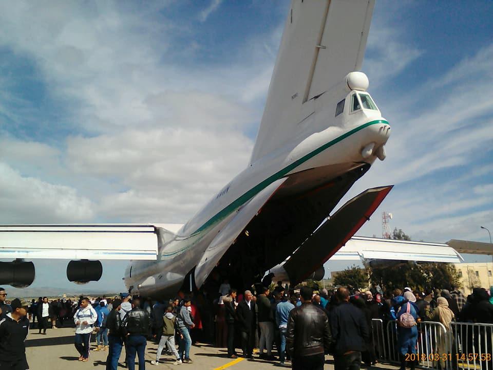 أكبر و أضخم موسوعة صور لطائرات النقل و الشحن الجزائرية AAF- iL 76/ iL 78 - صفحة 37 42450529501_4a8795323e_b