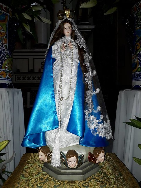 Ntra. Sra. de la Asunción, Santuario de la Asunción, (imagen peregrina), Zoquizoquipan, Metztitlán, Hgo