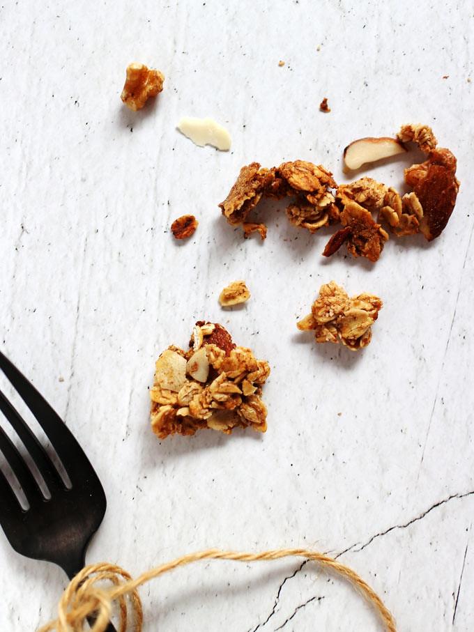 全素香蕉燕麥穀片vegan-banana-bread-granola (5)