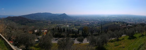 View from Montecatini Alto, Tuscany, Italy