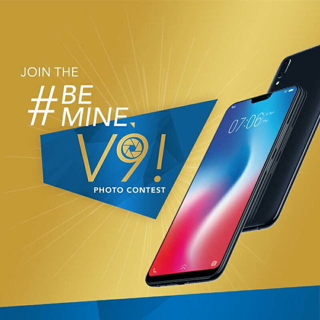 Get a chance to win a new Phone with Be Mine V9 | Vivo