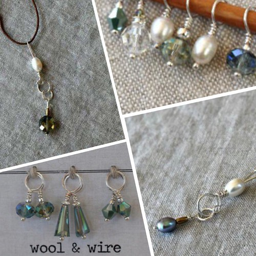 Wool & Wire Stitch Markers and Necklaces