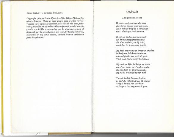KaasWillemElsschot16edruk1969GeenFrontispice