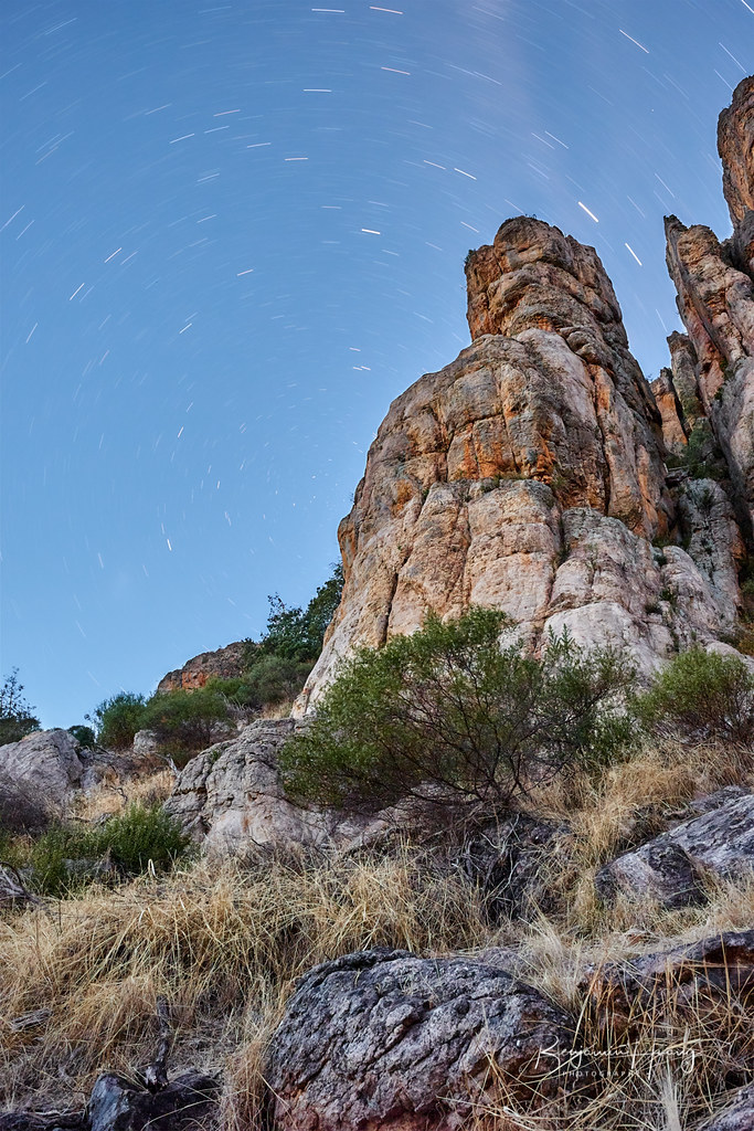 Arapiles Star Trails