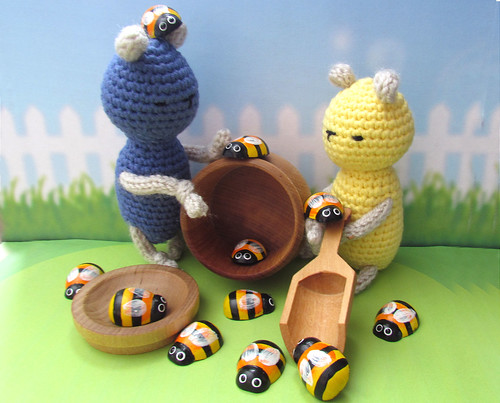 Little Bears Playing with MDH Toys