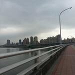 Waking bridge to New Taipei City