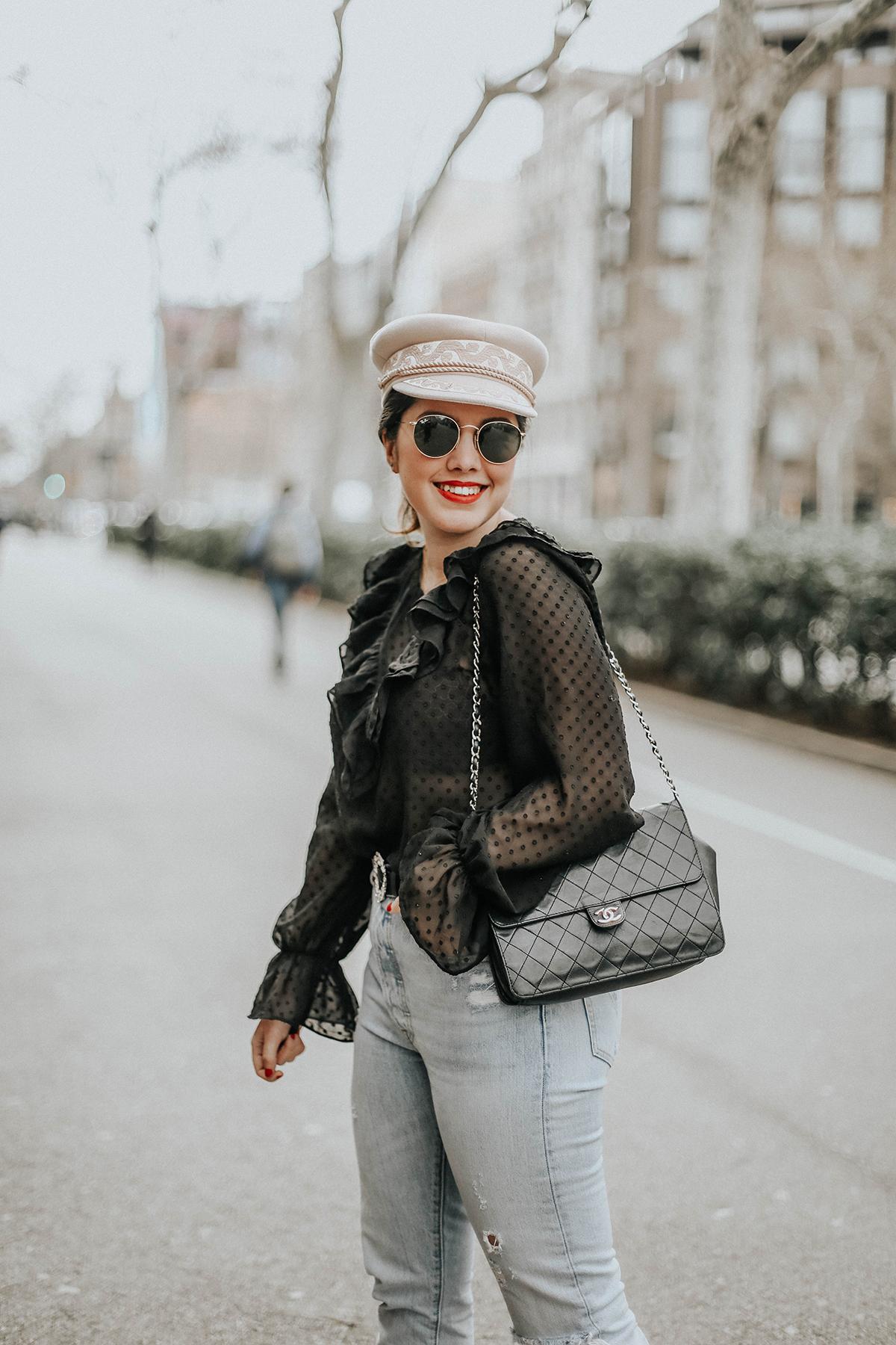 loavies-ruffle-blouse-levis-skinny-501-jeans-amazon-fashion-streetstyle5