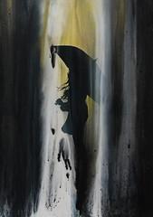 Sunil Puljhun, 'Untitled 2', mixed media on paper, 48x67cm, 2018 - USD 425