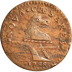 Maris 66-v New Jersey copper obverse