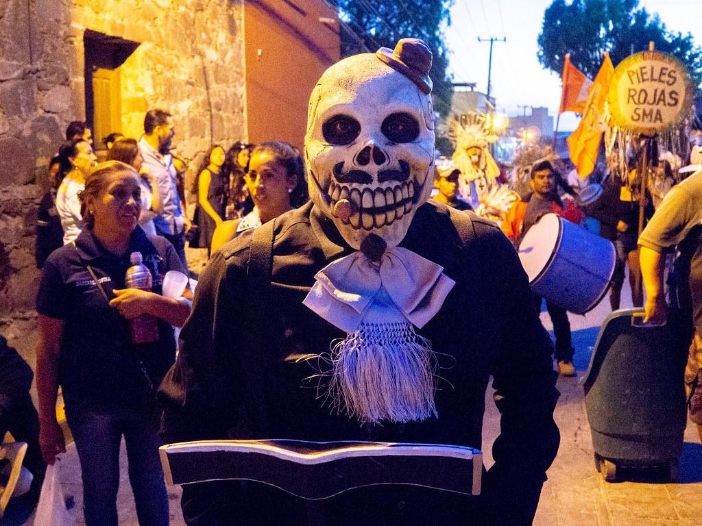 They love their fiestas in San Miguel