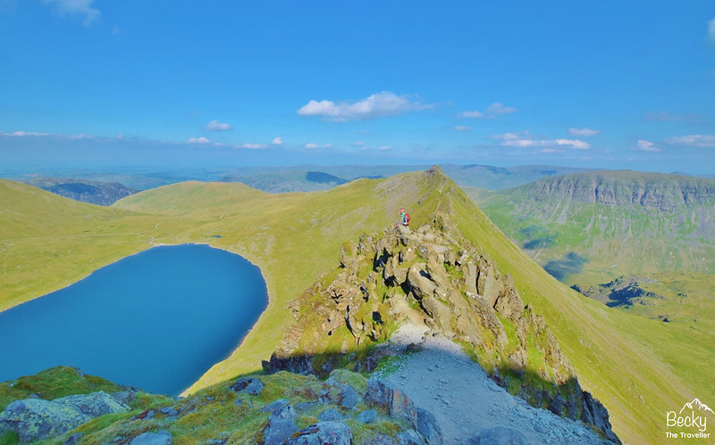 Helvellyn back via Striding Edge - Lake District (3)