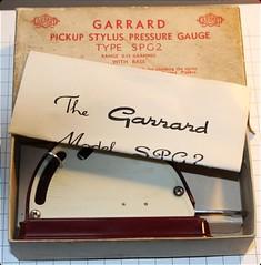 Garrard Stylus Pressure Gauge SPG2 with base 1