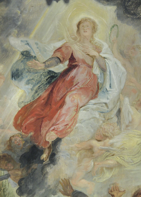 Detail - The Assumption of the Virgin, Peter Paul Rubens, c.1616