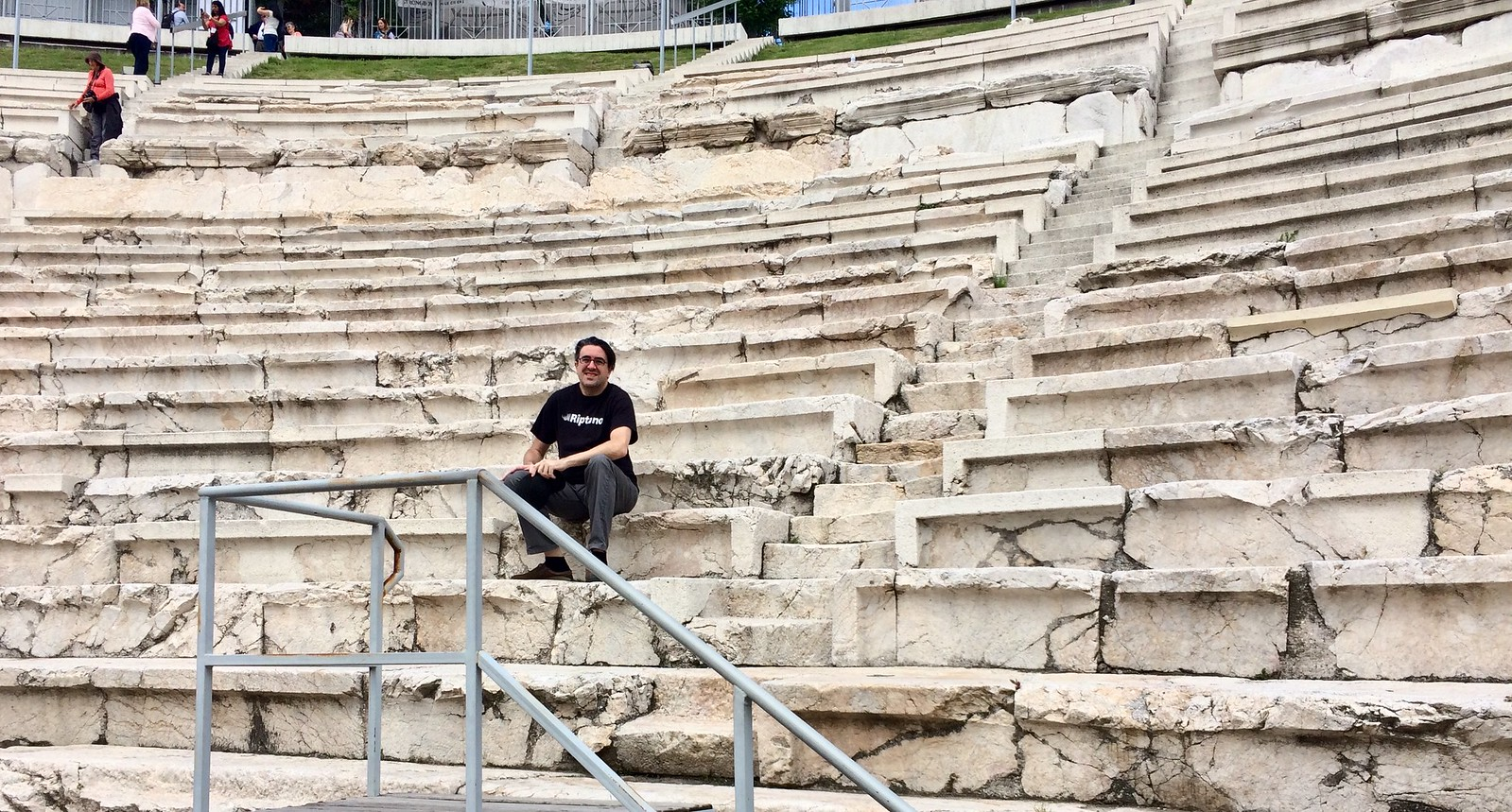 201705 - Balkans - Ancient Roman Theater - 14 of 89 - Plovdiv - Hadji Hasan Mahala - Plovdiv, May 22, 2017