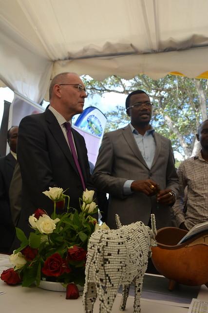 ILRI at Tanzania's Livestock Expo and Milk Week