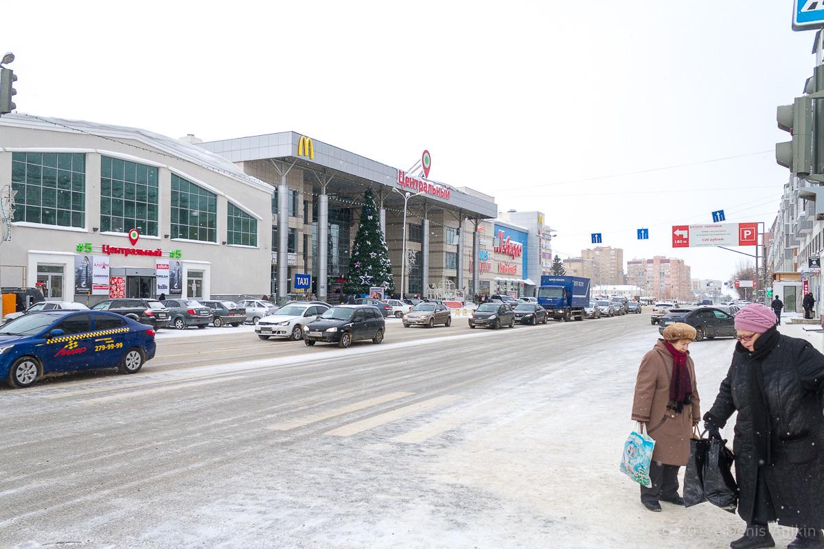 Центр Уфы зимой фото IMG_1082