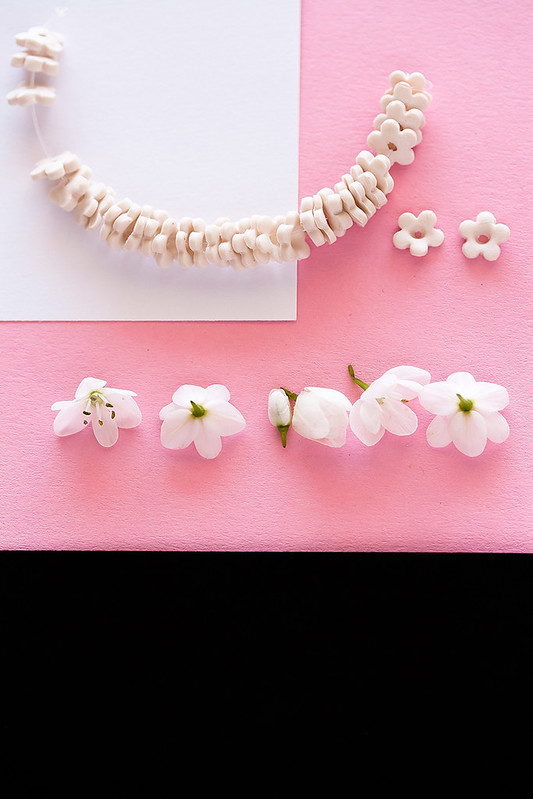 Hand Made Beads and flowers