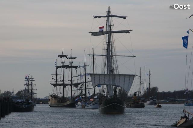 Vlootschouw Sail Kampen 2018