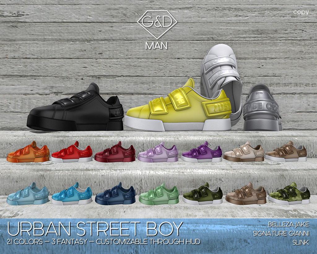 G&D MAN Sneakers Urban Street Boy adv