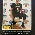 Nick Sarai MVP