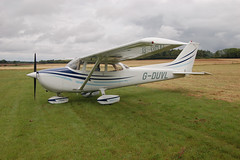 G-DUVL Reims-Cessna F172N (1723) Popham 030808