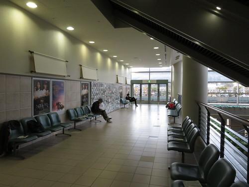 福島競馬場スタンド3階のちょっとした空間
