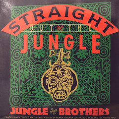 JUNGLE BROTHERS:STRAIGHT OUT THE JUNGLE(JACKET A)