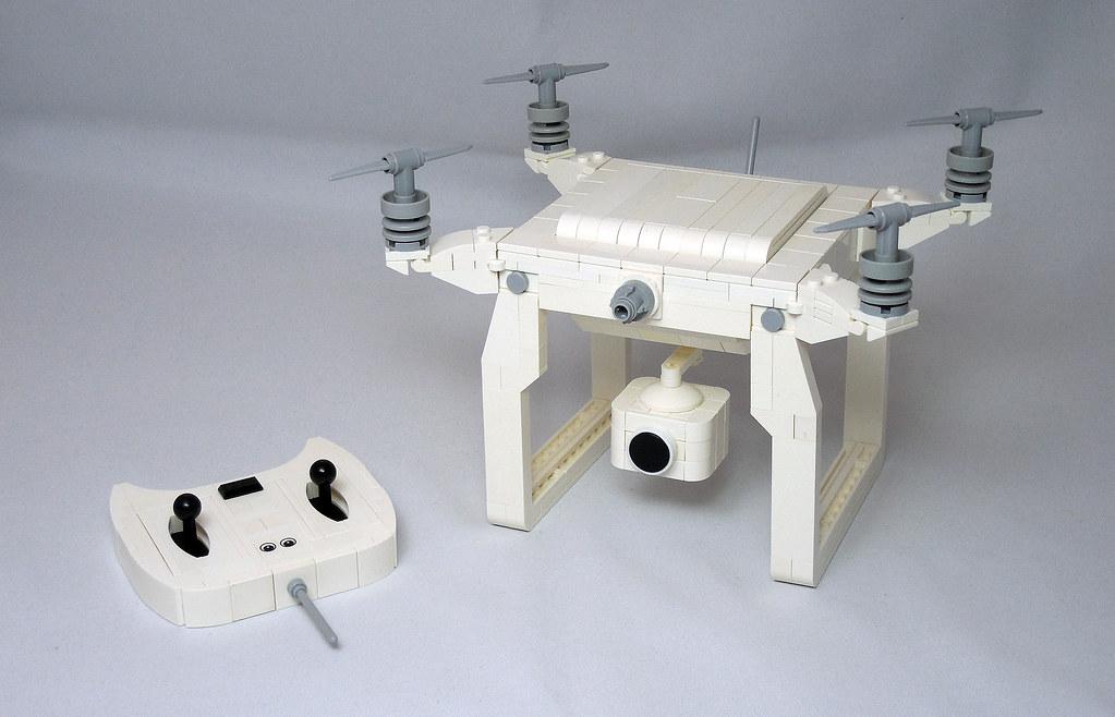 LEGO® MOC by Vitreolum: Drone