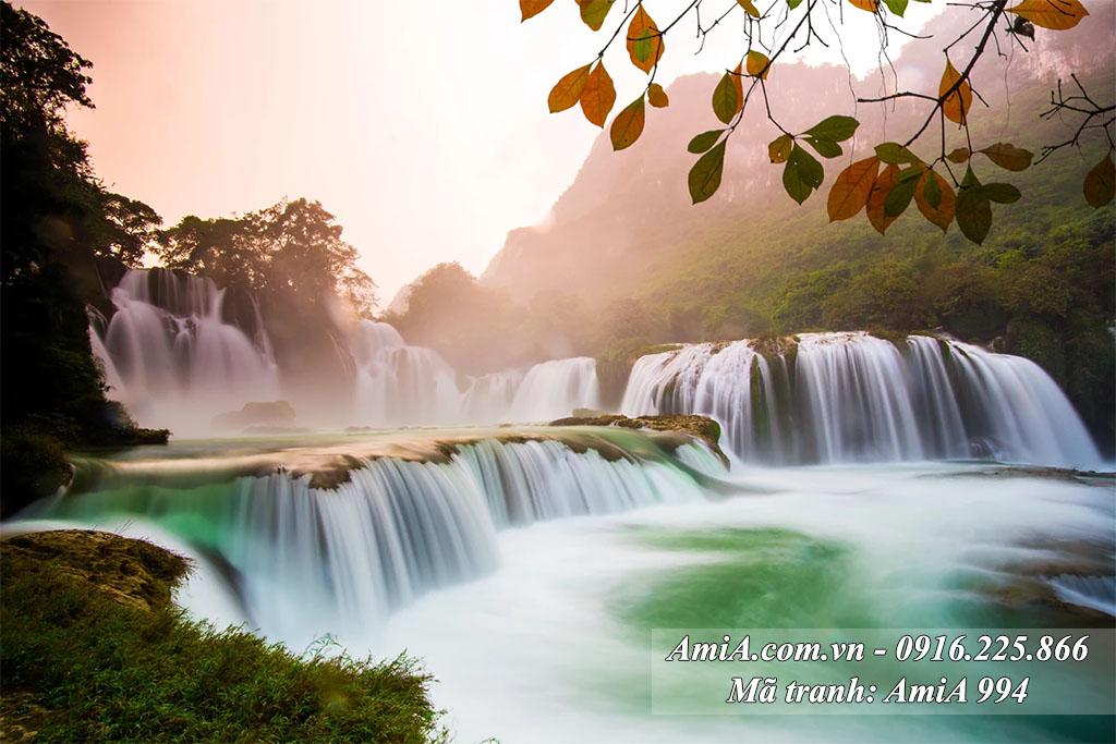 AmiA 994 - Tranh quê hương đẹp thác nước Bản Giốc