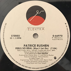 PATRICE RUSHEN:FEEL SO REAL(WON'T LET GO)(LABEL SIDE-B)