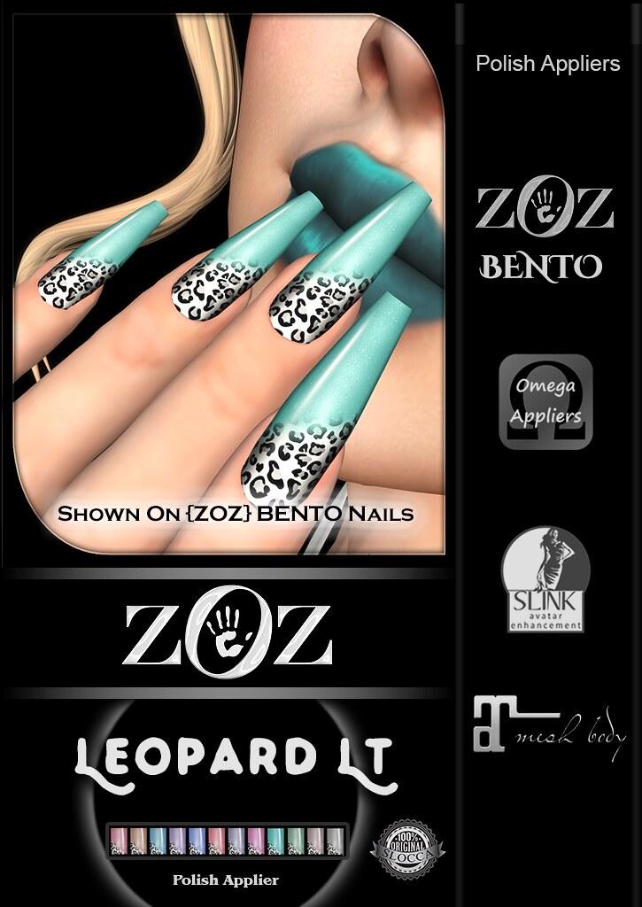 {ZOZ}  Leopard Lt Pix Bento L