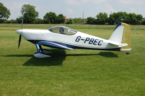 G-PBEC Vans RV-7 (PFA 323-14382) Popham 080608