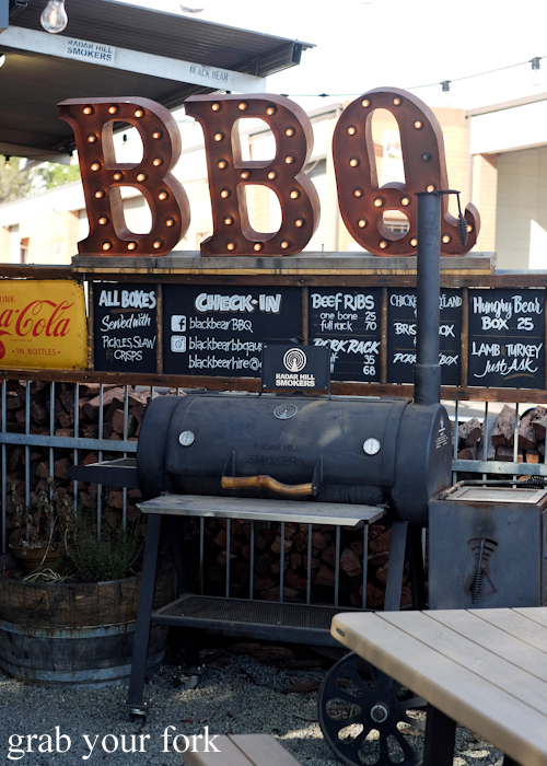 Barbecue at Black Bear BBQ in Blacktown Sydney