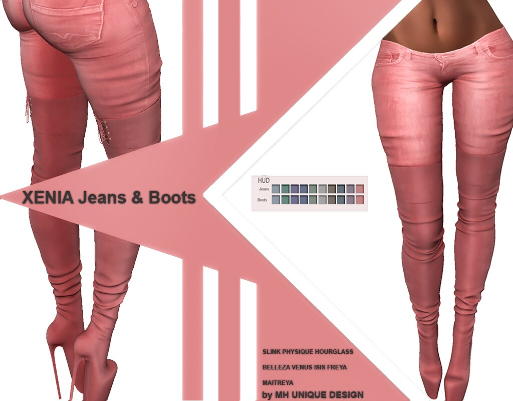 MH-Xenia Jeans & Boots Collection