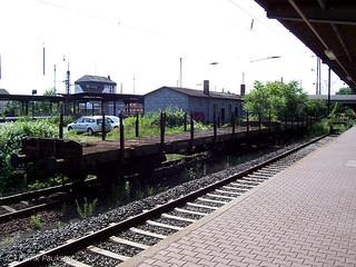 Alte Rungenwagen in Hanau