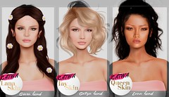 are you ready for this amazing celebrity inspired skins by roanhausen for catwa?