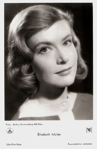 Elisabeth Müller in Geliebte Corinna (1956)
