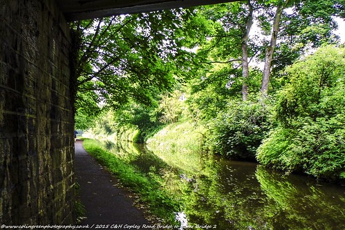 Copley Road Bridge to Lister Bridge on the Calder & Hebble Canal.