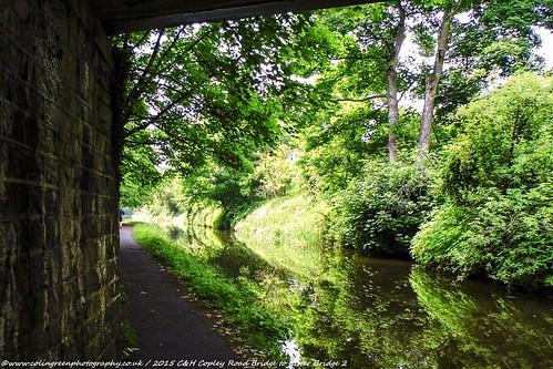 Copley Road Bridge to Lister Bridge on the Calder & Hebble Canal.