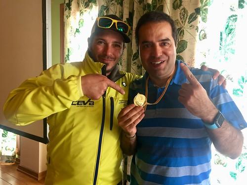 Con Hector del Cevb en la comida del Cevb 2018